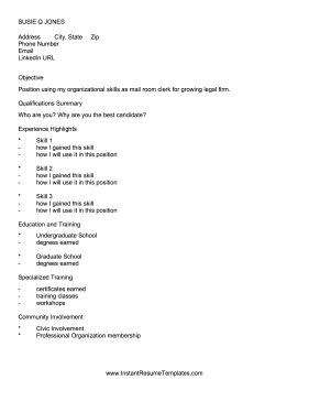 best resume format for ats