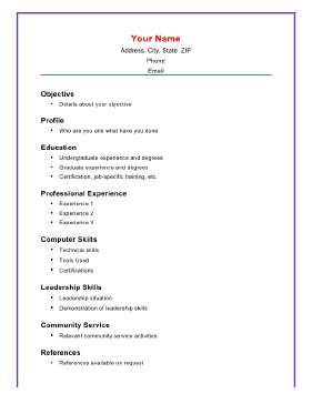 computer skills in resume samples