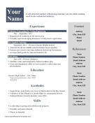 Teenager_Resume Teenager Newsletter Templates on free printable monthly, one page, microsoft publisher, free office, classroom weekly,